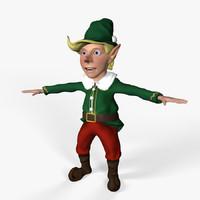 christmas elf dxf
