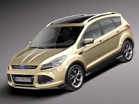 3d 3ds 2013 suv kuga