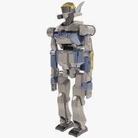 maya humanoid robot hrp-2 promet