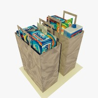 3ds 2 paper shopping bags