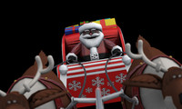 santa sleigh