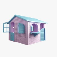 3dsmax small house toy