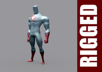 free obj mode captain atom rig