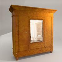 karelian birch veneer 3d model