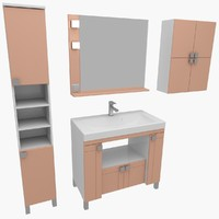 x bathroom furniture