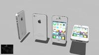 3d model iphone 4s