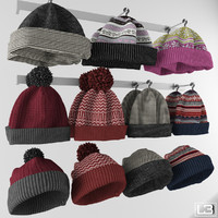 Fashion shop knitted hat