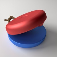 3d model castanets