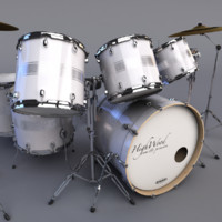 3d model highwood drumset