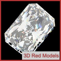 3ds max diamond radiant cut