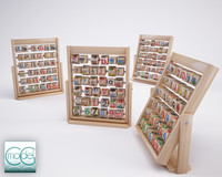 toy abacus wood 3d model