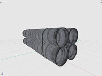 3dsmax pipe barrier