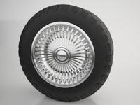 maya wheel tire