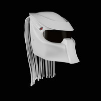 3dsmax racing predator helmet