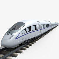 Chinese CRH-380 High-Speed Train