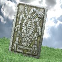 aztec stone 3d model