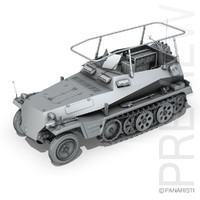 SD.KFZ 250/3 - Half-track Command Version