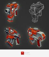 3d model gun range
