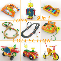 toy 9 1 3d model