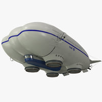3d model aerostatic hybrid airship lockheed martin