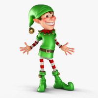 3ds max christmas elf