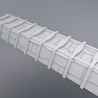 structural beam 3d model