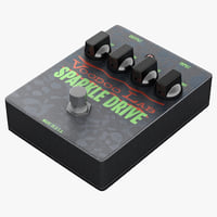 guitar overdrive pedal voodoo 3d 3ds