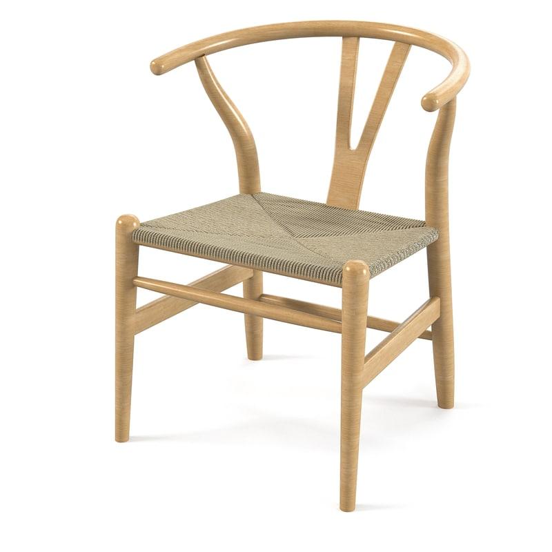Hans wegner wishbone obj for Stylish famous chair