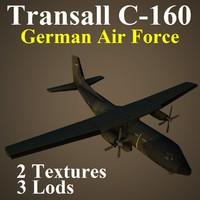 max transall gaf transport aircraft