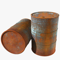 Old Rusty Barrel