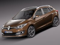 3d 2013 2014 estate renault