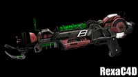 3d raygun mark ii model