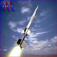 3d sounding rocket aerobee 150