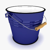 bucket modeled 3d 3ds