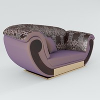 turri incanto t231 sofa 3d model