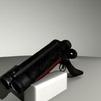 sawn-off shotgun ma