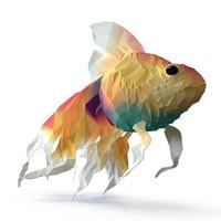 Fish - Flat Surface Shader