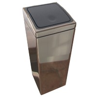 Touch Bin®, 25 Litre - Brilliant Steel