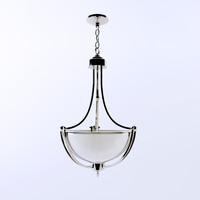 max delray polished chrome pendant