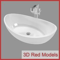3d sink faucet model