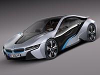 BMW i8 Coupe Concept
