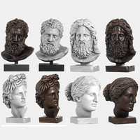 max classical head sculptures