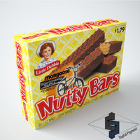 3ds max little debbie nutty bars