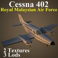 cessna 402 rmf aircraft max