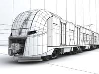 Train RZD Lastochka