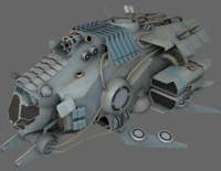 3ds max spaceships fighter