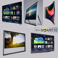 3d model tivision samsung smart tv