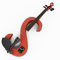 3d electric violin stagg model