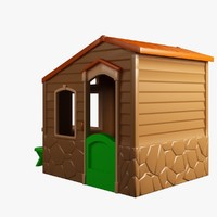 small house toy 3d model