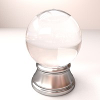 crystal ball 3d 3ds